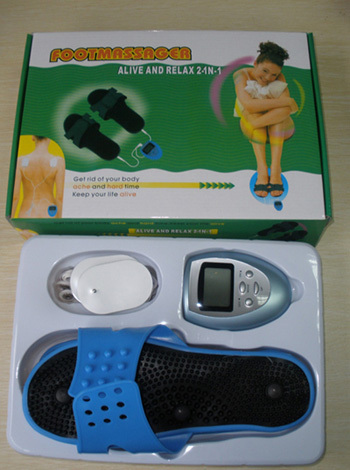 women electronic foot massage therapy shoes