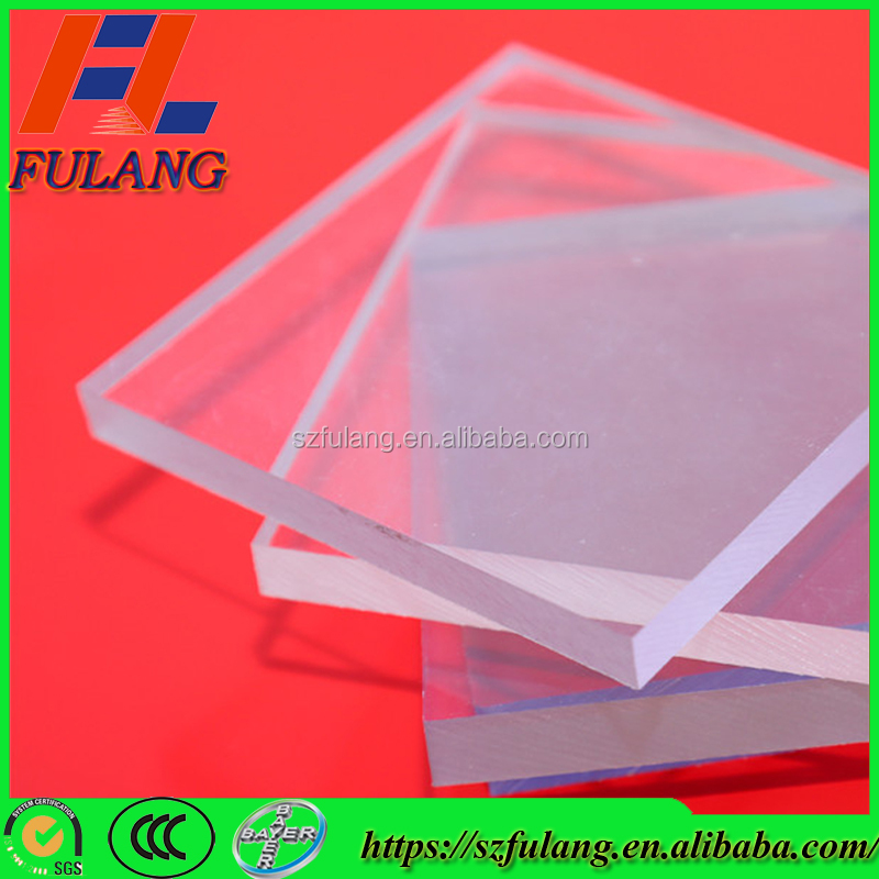 Industrial roofing transparent material types lexan polycarbonate sheet price