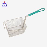 Mesh French Deep Stainless Steel Fry Basket for Deep Fat Fryer