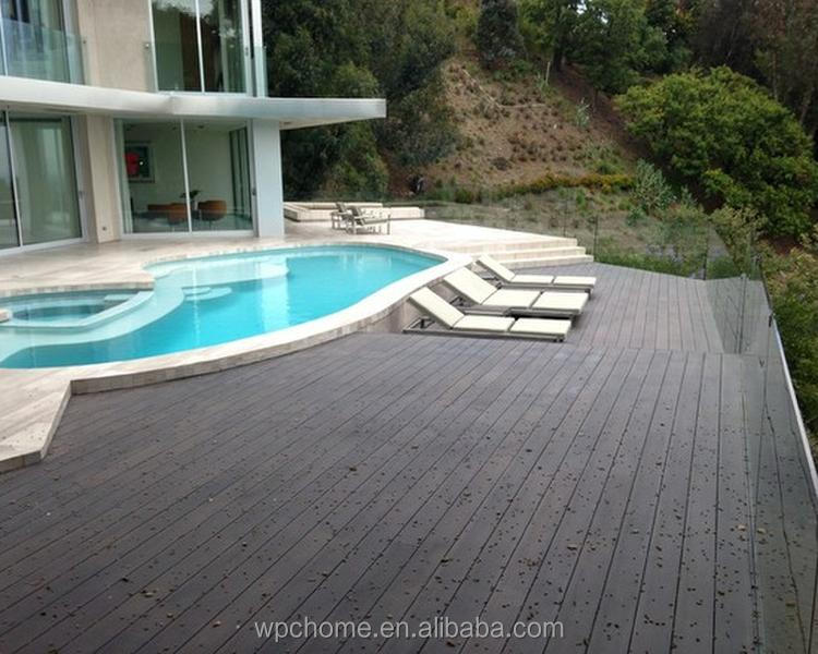 Outdoor WPC Decking Floor,Outdoor WPC Wood Flooring, Easily Installed WPC Composite