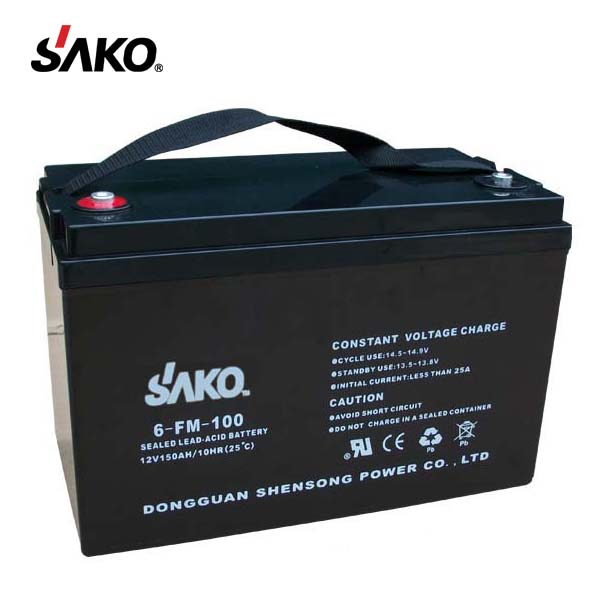 Cheap Price High Quality 100AH Rechargeable Storage UPS Lead Acid Battery