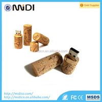 swivel special 2017 trending gifts Natural bamboo 2GB /wood USB flash drive