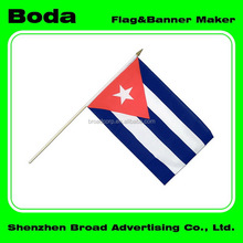 Top quality cuba polyester national country flags