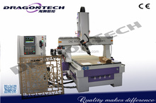 4 axis CNC Router DT4A1325ATC,Sculpture 4Axis 3D CNC Cutting/Carving/Engraving Machine with high Quality, ATC cnc router