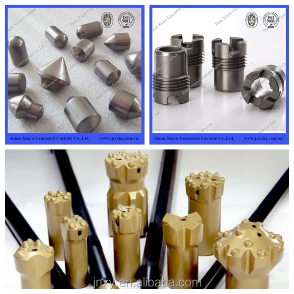 Tungsten Carbide 41mm Taper Rock Drill Button Bits