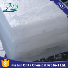 kunlun brand fully or semi refined paraffin wax packing into 50kg net bags