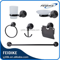 Feidike 9000B ORB black color bathroom accessories set