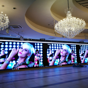 High quality full color P4 indoor led advertising screen/p4 led video wall price