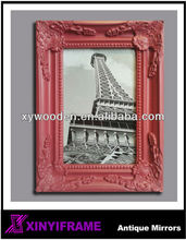 wood crafts antique timber photo frame