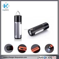 New arrival powerbank wireless bluetooth speaker with LED light, waterproof, SOS Warning function