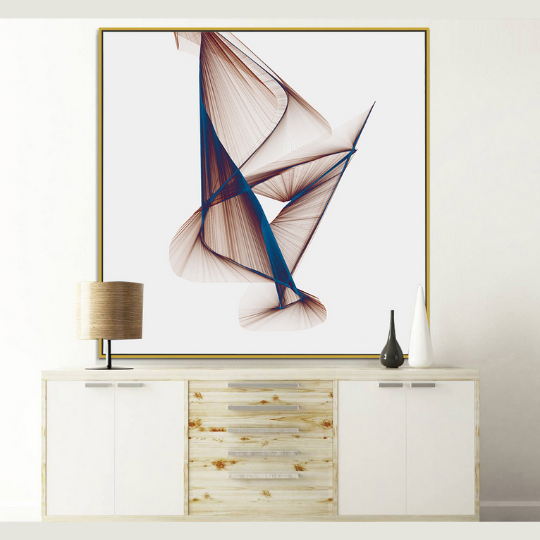 Cheap Price Abstract Geometry Canvas Painting Wall <strong>Art</strong>