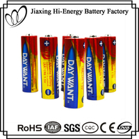 Top Quality 1.5V LR6 AA AM3 Dry Cell Alakaline Battery GP