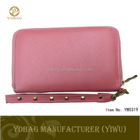 Fashion PU leather wallet for women