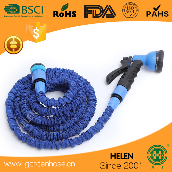 OEM Order factory zhejiang China 2017 hot sales collapsible water hose Fantastic colored Fire expandable garden hose