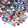 10mm 12mm Flatback Sew On Assorted color Loose Acrylic Gems Stone