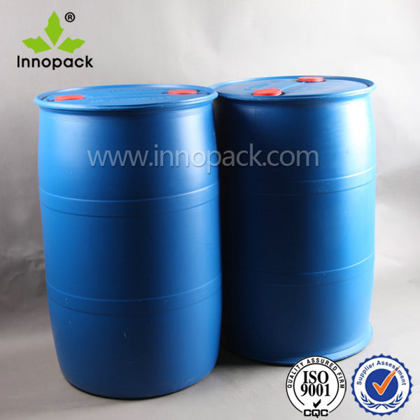 Hdpe Blue Plastic Drum For Chemical Packaging 55 Gallon