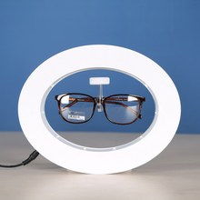 Magnetic levitating spectacles display <strong>shelf</strong>,Led levitating spectacles,Magnetic Display With Custom Logo POP