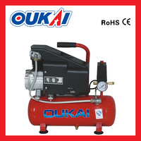 Direct drive single pump 1hp 9L 8BAR portable reciprocating piston Air compressor with CE
