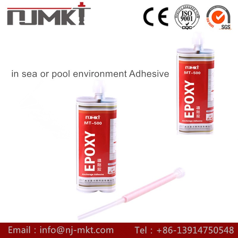 NJMKT Manufacturing factory MT-500 concrete liquid grout for anchor bolt and rebar