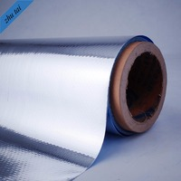 Aluminum coated insulation poly roll pet film