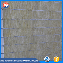 Hot selling rock wool wall sandwich panel