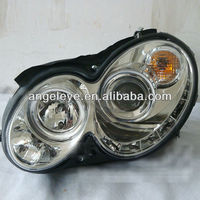 For Mercedes-Benz CLK W209 LED Head Light 2004-2009 Chrome Color