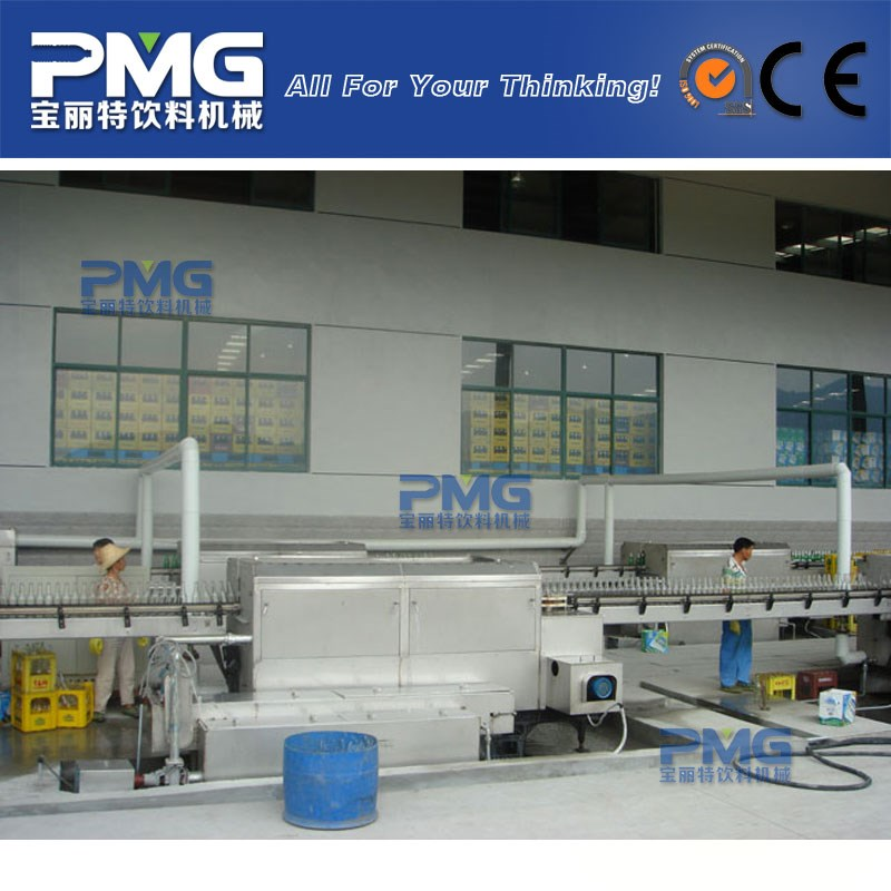 Automatic washing and cleaning machine / equipment for reusable and recycled glass bottle
