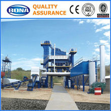 road construction machine120tph parker asphalt plant with bag filter