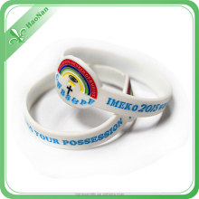 Wholesale Fashion Custom Promotional Silicon Bracelet from manufacturer
