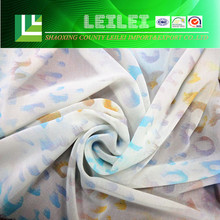 100% Polyester Custom Name Of dress Material Fabric