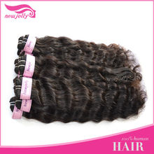 Best quality grade AAA natural color virgin Brazilian human hair weave body wave,can dye any color
