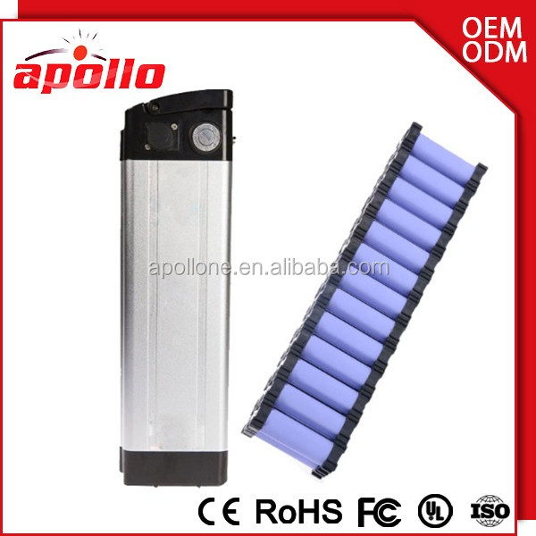 lithium polymer 48v 10Ah battery pack fro electric bicycle