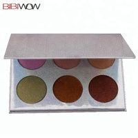 Imported Wholesale Makeup Custom Private Label Eyeshadow Palettes Manufacturer