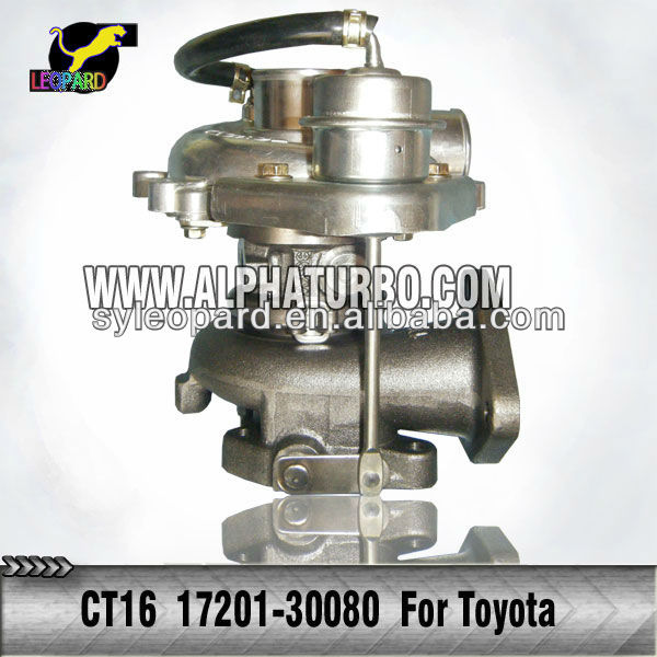 CT16 17201-30080 Turbocharger for Toyota Hiace,HI-LUX Diesel ,Camry Engine 2KD -FTV