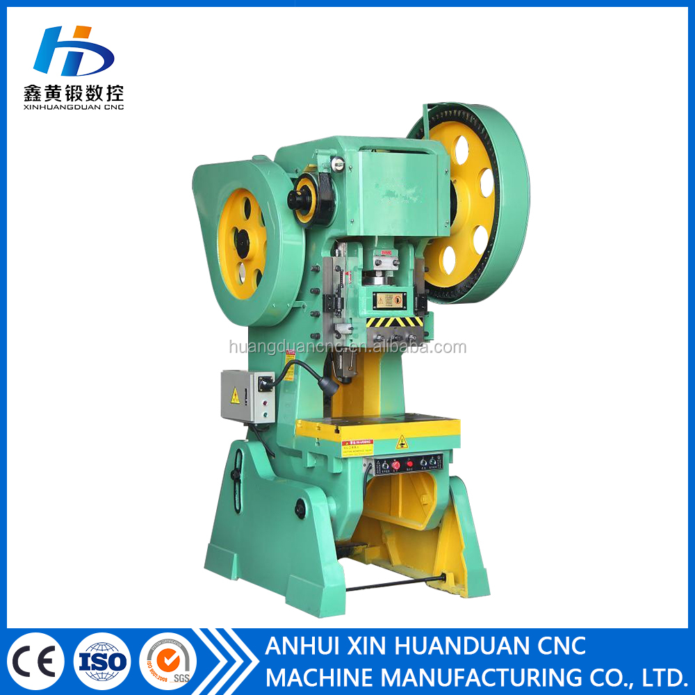 J23 mechanical high frequency scrap metal press machine/power press/punching machine 25ton 40ton