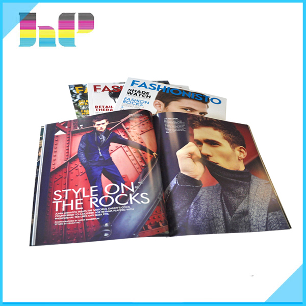shopping guide magazine printing recycled paper mini magazine printing