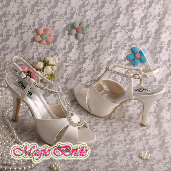 (20 Colors) Bridal Sandals Fashion Pumps
