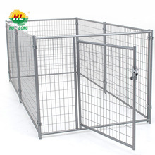 wire mesh fencing large dog run kennel