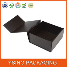 High Quality Flat Pack Paper Folding Foldable Carrier With Magnet