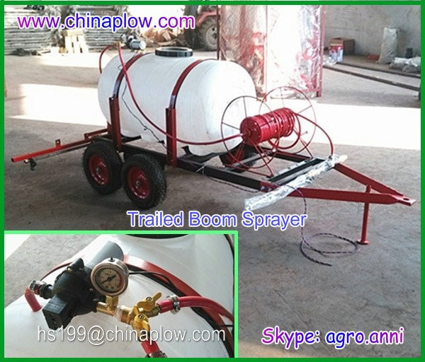 Hot sale tractor sprayer / ATV trailed boom sprayer agriculture implement