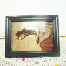 Hot Selling House Shaped Pearl Led 3d Polyresin Photo Frame 10
