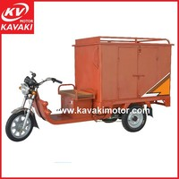 2015 Kavaki Hot Popular Battery Powered Tricycle / Electric Express Tricycle With Iron Cabin