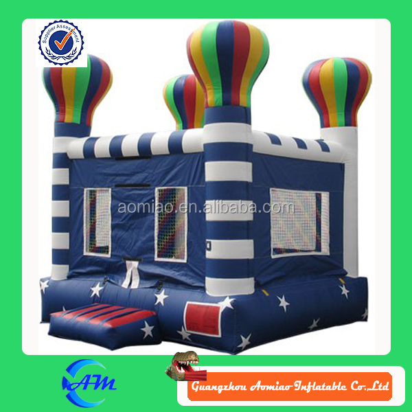 outdoor playground trampoline big bouncer inflatable bouncers with ballons for party