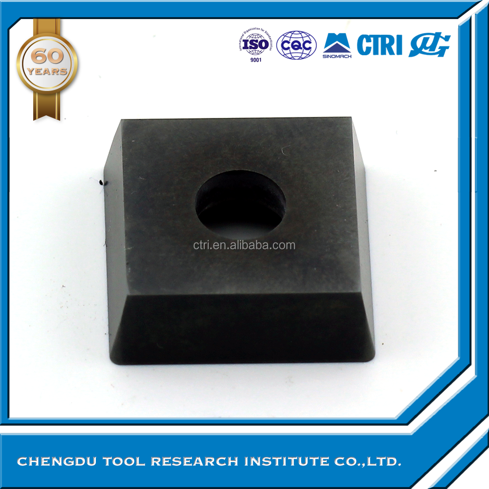 SPMW190608 coated <strong>carbide</strong> milling cutter edge milling insert for steel pipe