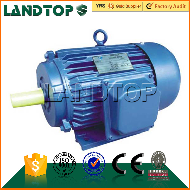 Y series landtop aynchronous 3 phase 20hp electric motor 5.5kw