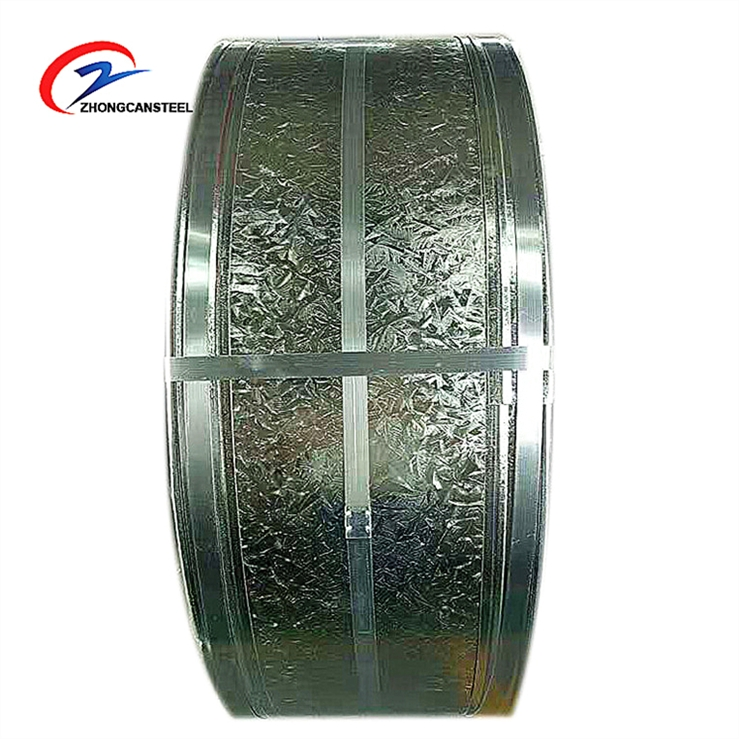 CRCA Cold Rolled Annealed Steel Galvanized Strip Slitting Coil For Pipe Making