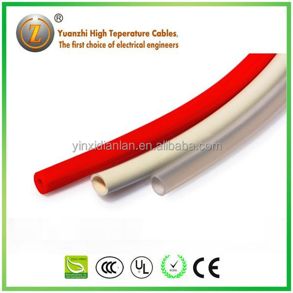 Non-sticky Silicone Rubber Glassfiber insulating sleeve