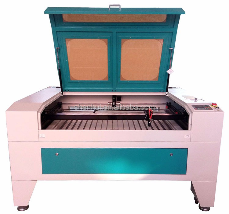 top brand fabric pattern laser cutting machine 80w 100w