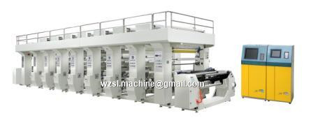 high Computer Color Register Rotogravure Printing Machine