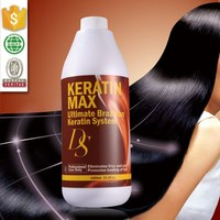 Profesional hair care cosmetics wholesale smooth keratin hair straightening solutions